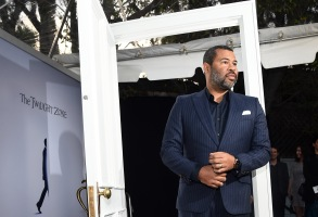 "Jordan Peele at ""The Twilight Zone"" Hollywood premiere"