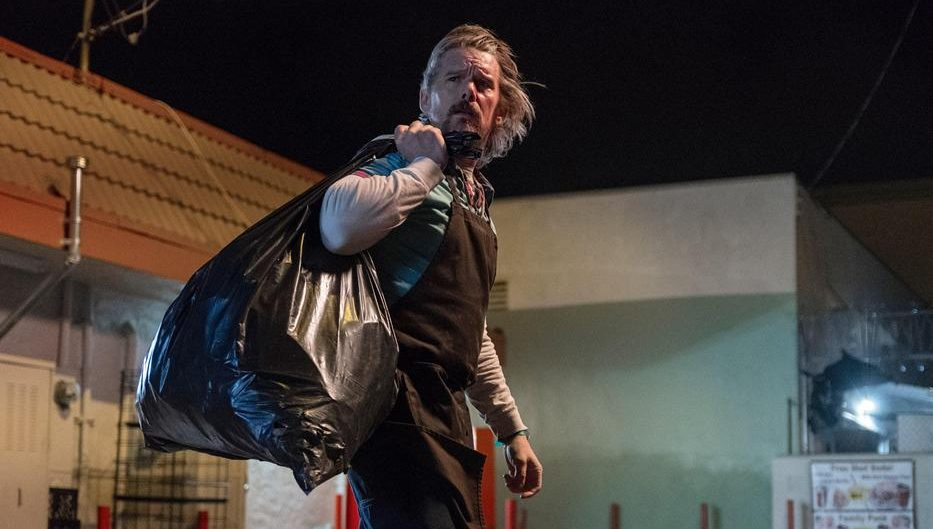 Ethan Hawke Grows a Beard and Finds a Baby in a Dumpster in 'Adopt a Highway' Trailer