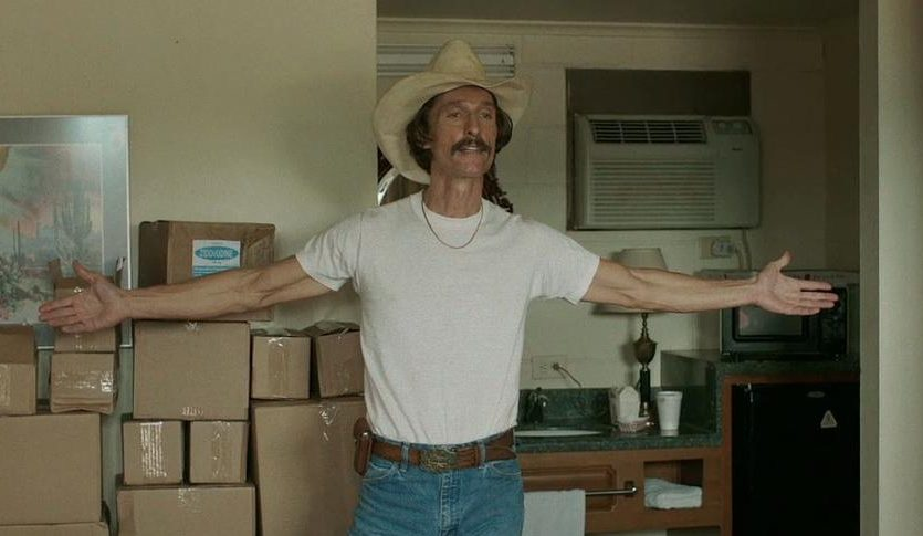 "Matthew McConaughey won the Oscar for best actor for his ""Dallas Buyers Club"" performance"