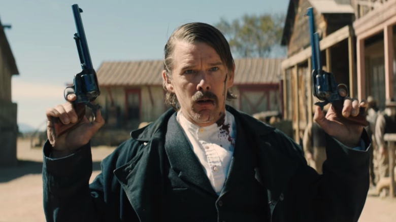 Image result for the kid movie scenes ethan hawke 2019