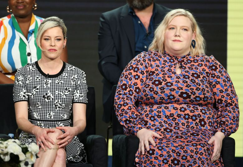 Elizabeth Banks and Lindy WestHulu 'Shrill' TV Show Panel, TCA Winter Press Tour, Los Angeles, USA - 11 Feb 2019