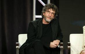 Neil GaimanStarz 'American Gods' TV Show Panel, TCA Winter Press Tour, Los Angeles, USA - 12 Feb 2019