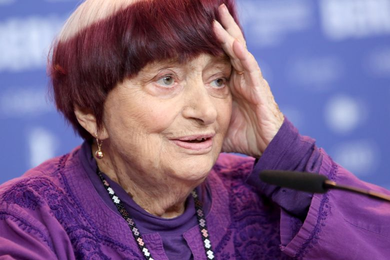 Agnes Varda attends the press conference of 'Varda by Agnes' (Varda par Agnes) during the 69th annual Berlin Film Festival, in Berlin, Germany, 13 February 2019. The movie, which plays out of competition, will world premiere at the Berlinale that runs from 07 to 17 February.Varda by Agnes press conference, 69th Berlin Film Festival, Germany - 13 Feb 2019