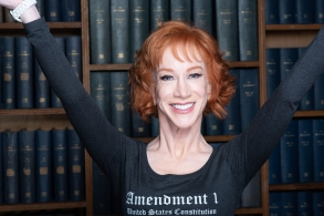 Kathy GriffinKathy Griffin at the Oxford Union, UK - 06 Feb 2019