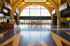 Empty movie theater entranceVARIOUS