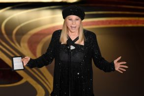 """Barbra Streisand introduces """"BlacKkKlansman"""" at the Oscars, at the Dolby Theatre in Los Angeles91st Academy Awards - Show, Los Angeles, USA - 24 Feb 2019"""