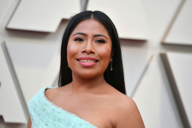 "Yalitza Aparicio arrives at the Oscars, at the Dolby Theatre in Los Angeles. Television personality Yeka Rosales for the Mexican-based Televisa network is facing strong criticism after dressing up in ""brownface"" and wearing a prosthetic nose to make fun of indigenous Mexican actress Yalitza AparicioBrownface Yalitza Aparicio, Los Angeles, USA - 24 Feb 2019"