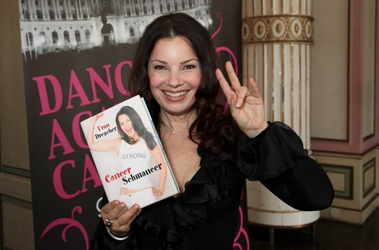Fran Drescher'Dancer against Cancer' Fundraising Gala, Wien, Austria - 09 Apr 2010
