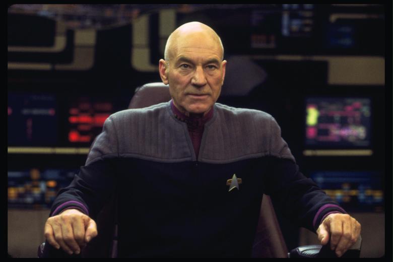 "Patrick Stewart, ""Star Trek: Nemesis"""