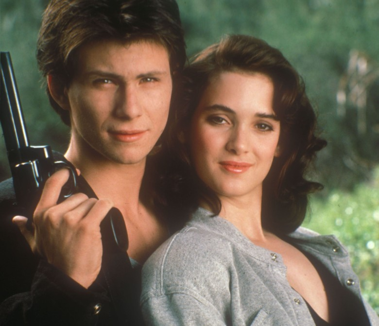 "Christian Slater and Winona Ryder, ""Heathers"""
