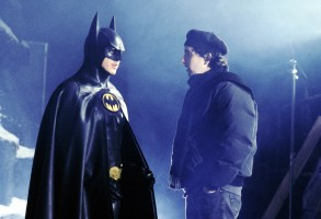 Editorial use only. No book cover usage.Mandatory Credit: Photo by Warner Bros/Dc Comics/Kobal/REX/Shutterstock (5886030u)Michael Keaton, Tim BurtonBatman Returns - 1992Director: Tim BurtonWarner Bros/DC ComicsUSAOn/Off SetAction/AdventureBatman - Le Défi