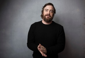 """Director Macon Blair poses for a portrait to promote the film, """"I Don't Feel at Home in This World Anymore,"""" at the Music Lodge during the Sundance Film Festival, in Park City, Utah2017 Sundance Film Festival - """"I Don't Feel at Home in This World Anymore"""" Portraits, Park City, USA - 20 Jan 2017"""