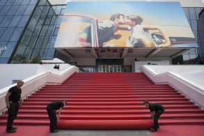 Palais des FestivalsPreparations, 71st Cannes Film Festival, France - 08 May 2018