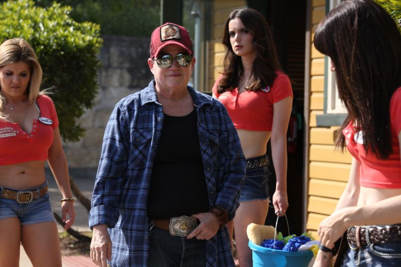 Editorial use only. No book cover usage.Mandatory Credit: Photo by Burn Later Productions/Kobal/REX/Shutterstock (9838587k) Lea DeLaria as Bobo 'Support the Girls' Film - 2018