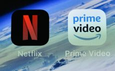 The icons of streaming services Netflix and AmazonPrime Video are pictured on an iPhone on in Gelsenkirchen, GermanyNetflix Amazon Prime Video, Gelsenkirchen, Germany - 15 Nov 2018