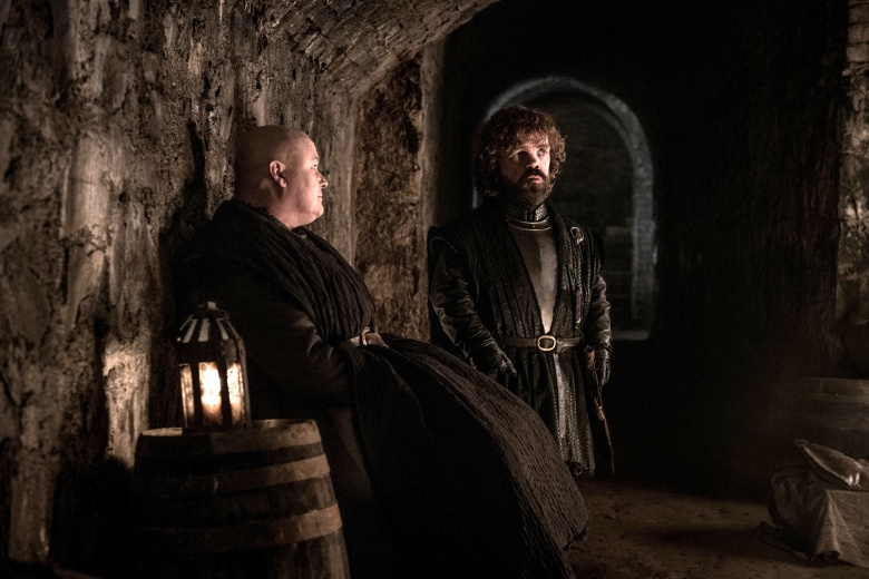 """Conleth Hill and Peter Dinklage, """"Game of Thrones"""""""