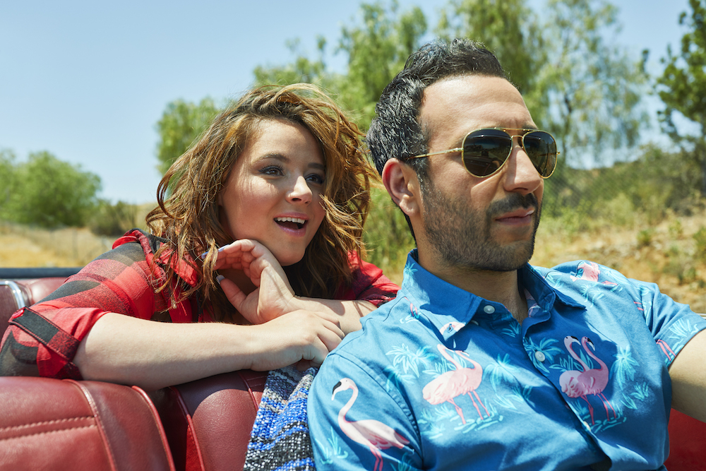 YOU'RE THE WORST - Pictured (l-r): Kether Donohue as Lindsay, Desmin Borges as Edgar. CR: Pamela Littky/FXX
