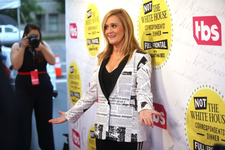 """Full Frontal With Samantha Bee"" Not The White House Correspondents Dinner"