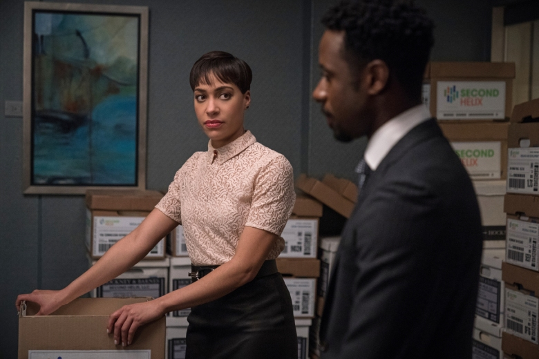 Cush Jumbo as Lucca Quinn of the CBS All Access series THE GOOD FIGHT. Photo Cr: Elizabeth Fisher/CBS