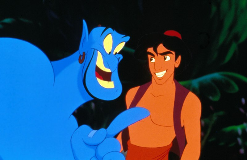 Editorial use only. No book cover usage.Mandatory Credit: Photo by Moviestore/Shutterstock (1541552a)AladdinFilm and Television