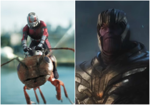 Ant Man Thanos Avengers: Endgame