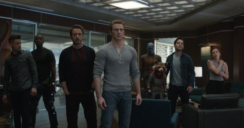 Marvel Studios' AVENGERS: ENDGAME..L to R: