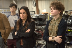 "BETTER THINGS ""No Limit"" Episode 5 (Airs Thursday, March 28 10:00 pm/ep) -- Pictured: (l-r) Pamela Adlon as Sam Fox, Hannah Alligood as Frankie. CR: Suzanne Tenner/FX"