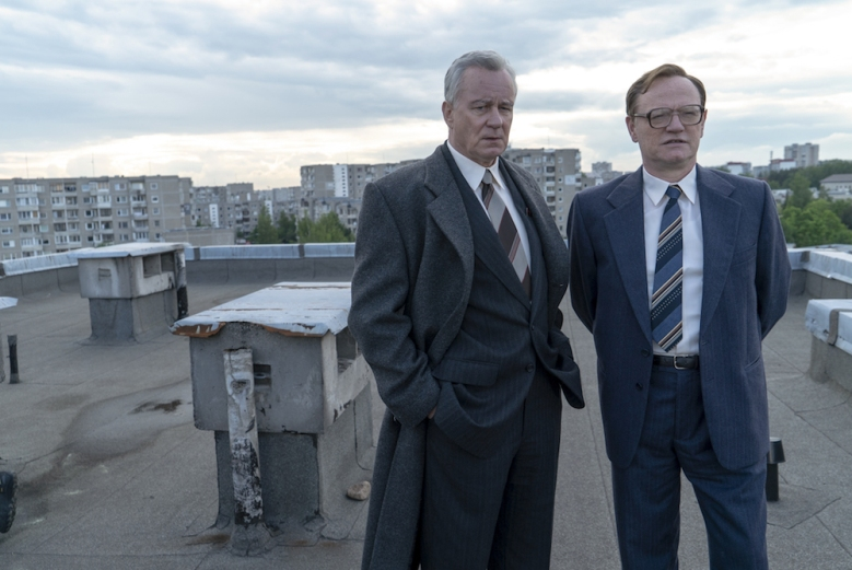 Chernobyl HBO Episode 2 Stellan Skarsgard Jared Harris