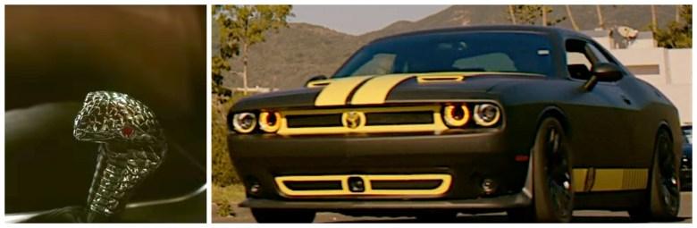"""""""Cobra Kai"""" Dodge Challenger"""