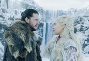 "Kit Harington and Emilia Clarke, ""Game of Thrones"""