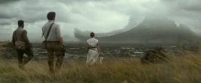 Finn (John Boyega), Poe Dameron (Oscar Isaac) and Rey (Daisy Ridley) in STAR WARS: EPISODE IX.