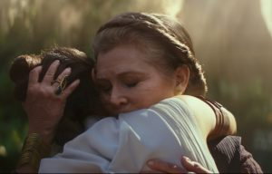 'Star Wars: The Rise of Skywalker': Billie Lourd Refused to Let J.J. Abrams Cut Her Scenes With Carrie Fisher