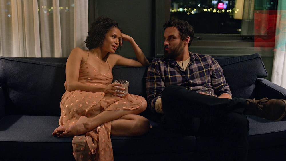 EASY Gugu Mbatha-Raw Jake Johnson