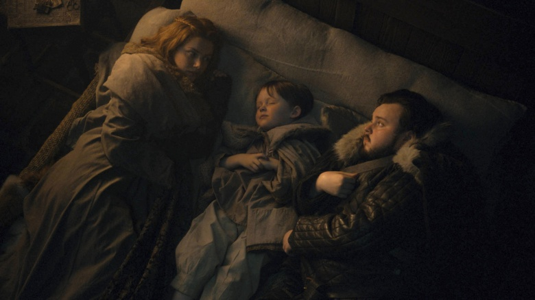 "Hannah Murray and John Bradley, ""Game of Thrones"""