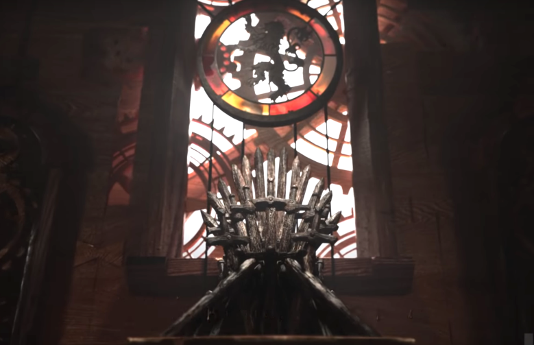 Iron Throne at King's Landing