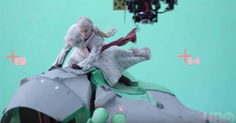 "Emilia Clarke, ""Game of Thrones"" behind-the-scenes"
