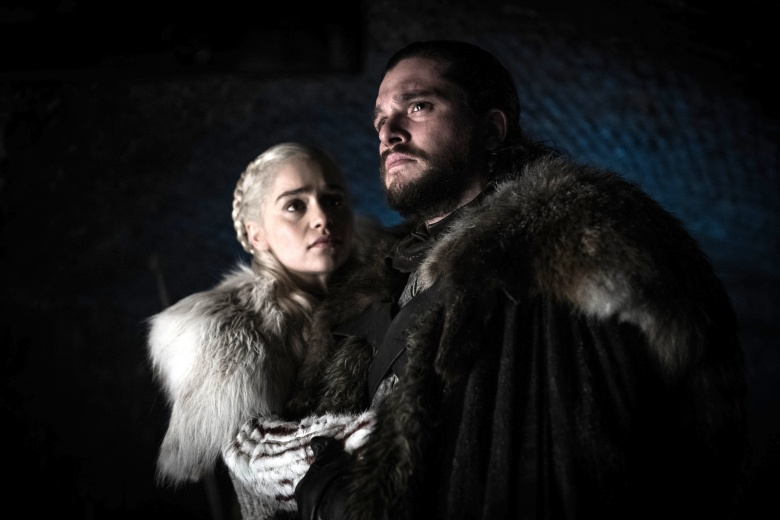 "Emilia Clarke and Kit Harington, ""Game of Thrones"""