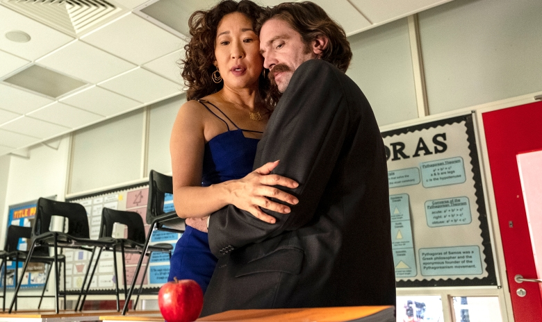 """Sandra Oh and Owen McDonnell, """"Killing Eve"""""""