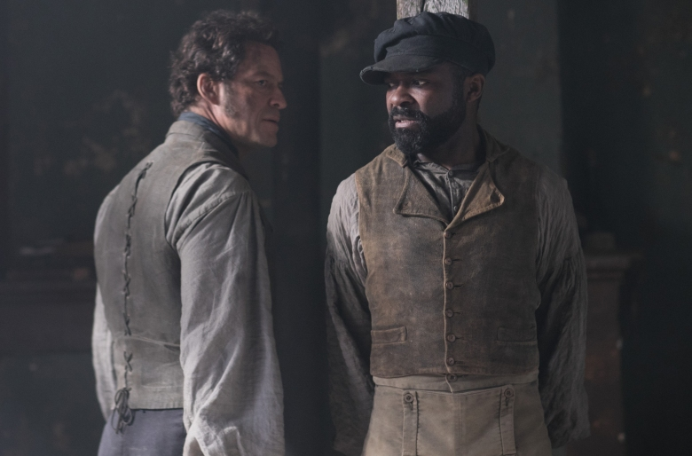 "Dominic West and David Oyelowo, ""Les Miserables"""
