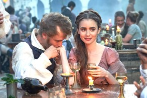 "Johnny Flynn and Lily Collins, ""Les Misérables"""
