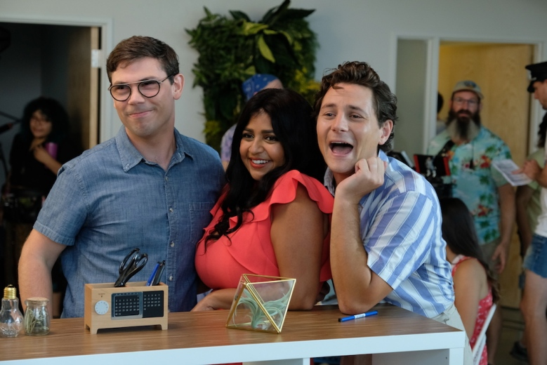 Special Netflix Ryan O'Connell, Punam Patal, and Augustus Prew