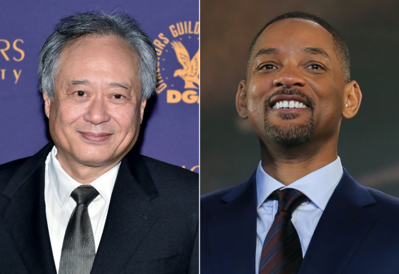 Ang Lee and Will Smith