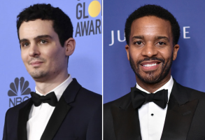 Damien Chazelle and Andre Holland
