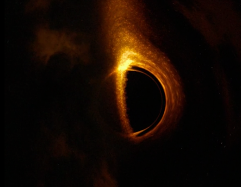 Christopher Nolan S Interstellar Predicted Look Of Black Hole Indiewire