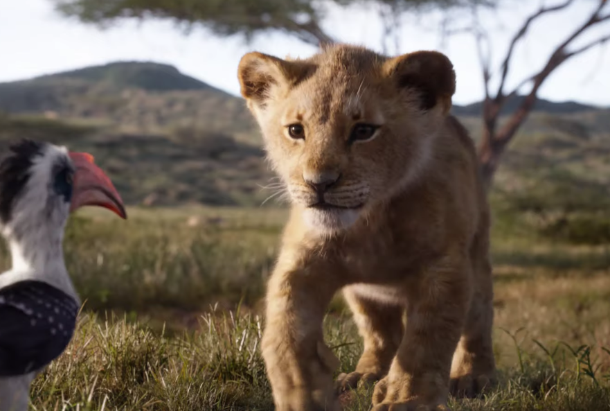 u2018the lion king u2019 official trailer  footage will wow you