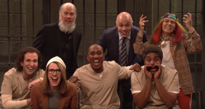 SNL Michael Keaton Julian Assange