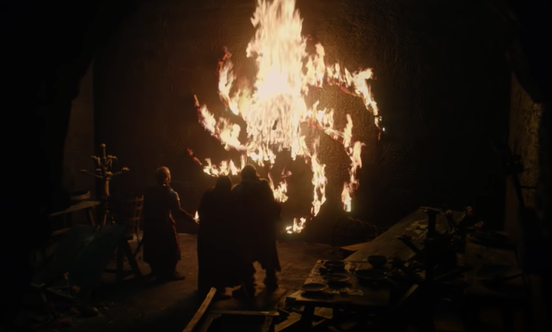 "The final ""Game of Thrones"" scene"