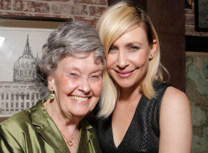 Lorraine Warren and Vera Farmiga