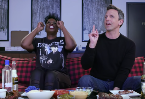 Leslie Jones Game of Thrones Seth Meyers