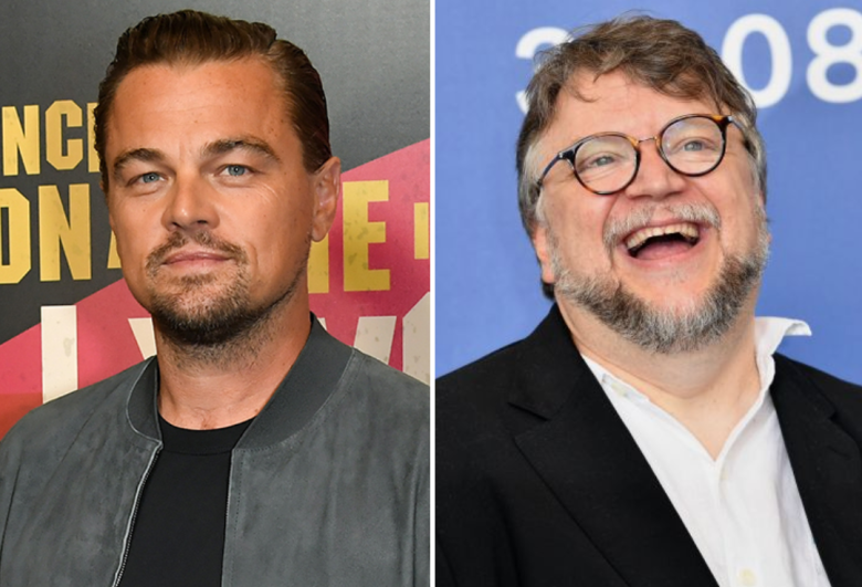 Leonardo DiCaprio and Guillermo del Toro